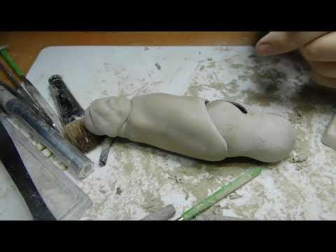 Процесс создания шарнирной куклы Igor`