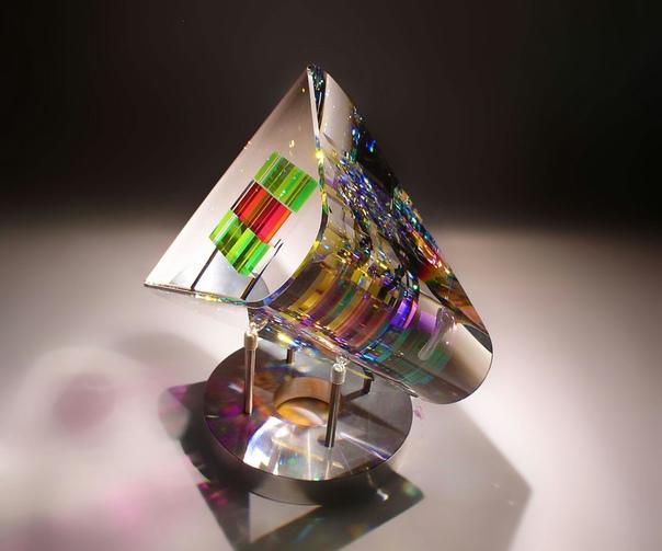 Волшебные стеклянные скульптуры Джека Стормса