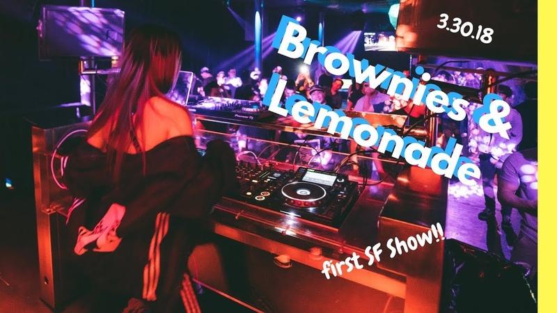 First time performing at Brownies Lemonade Vlog!