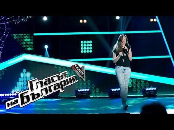 Виктория Динкова – Crazy – Гласът на България 5 – Кастинги на тъмно (25.02.2018)