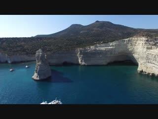Греческие острова - красота с высоты птичьего полета.съемка дроном