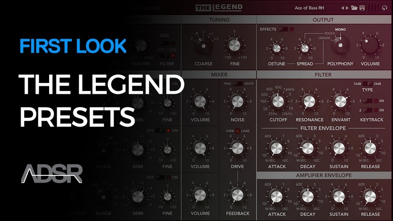 Synapse Audio The Legend - First Look PT 3 - Preset Playthrough