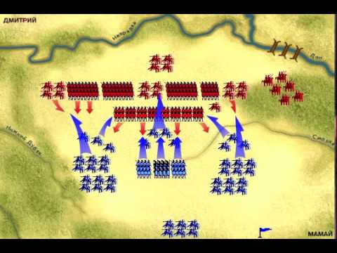 Куликовская битва 1380 года в интерактиве