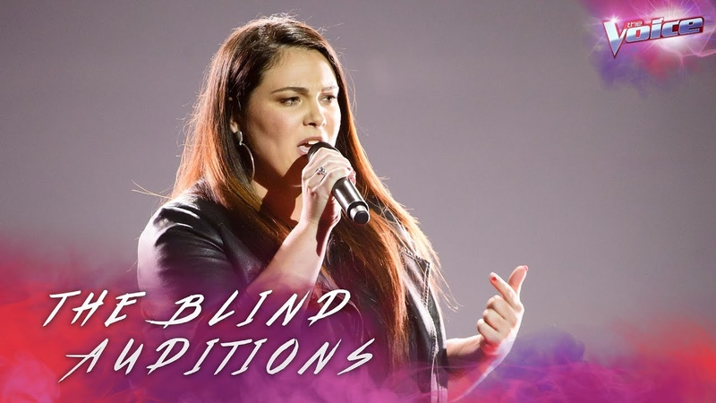 Blind Audition: Erin Whetters sings And I'm Telling You I'm Not Going | The Voice Australia 2018