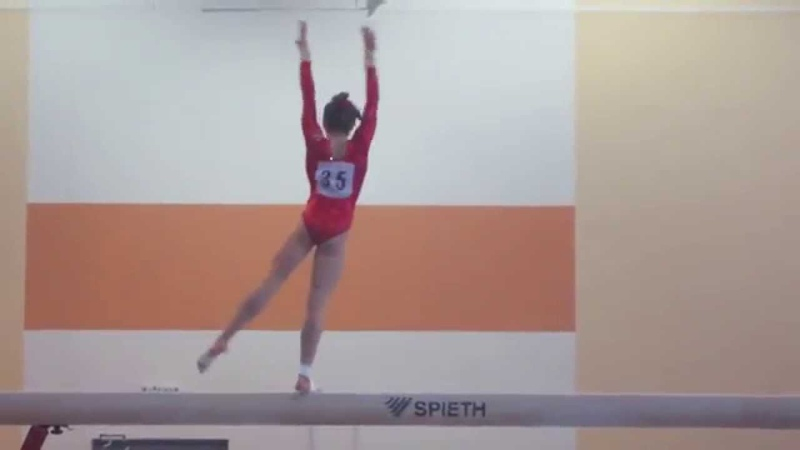 Elena Eremina - Russian Junior Nationals 2015 - BB EF - 14.400