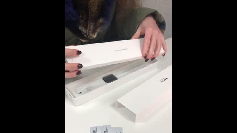 😍 Мы так давно не показывали Вам распаковку Apple Watch так что эту просто не могли пропустить😋