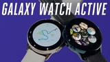 Samsung Galaxy Watch Active hands-on bye rotating bezels
