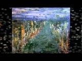 Stephen Ward paintings with beautiful piano music by Gabriele Tosi 'Onda'