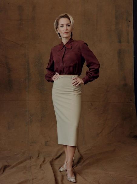 Джиллиан Андерсон Vogue U, 2019
