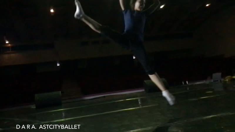 D A R A Z A T Y N B E K. ASTCITYBALLET 'SCB 12.01.2019. choreographer ADYL ERKINBAEV