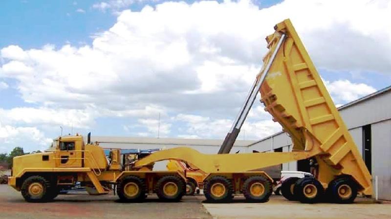 Extreme Dangerous Biggest Dump Truck Operator - Largest Bulldozer Heavy Equipment Machines Monster