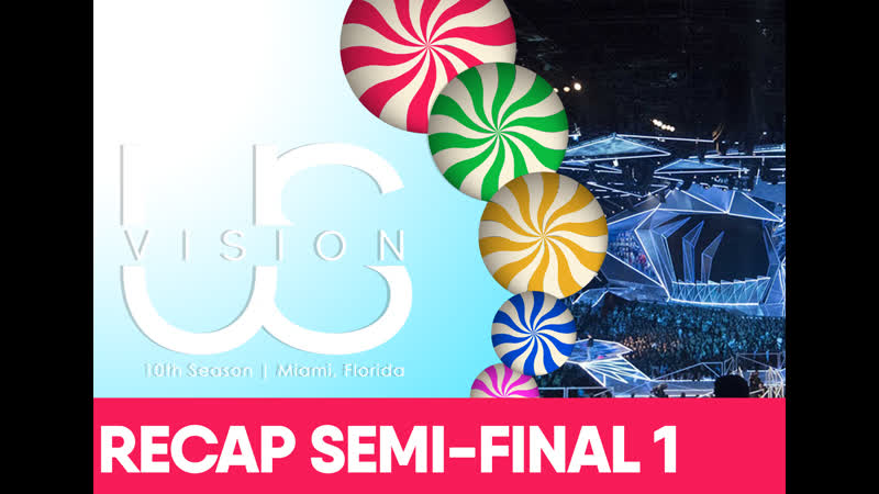 Recap of the First Semi-Final of the Tenth Season of USVision Song Contest
