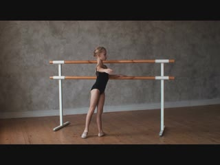 Ксения Третьякова. Классический танец. Экзерсис у