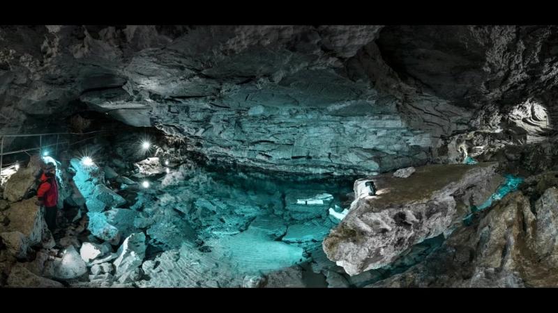 Подземные озера Кунгурской пещеры