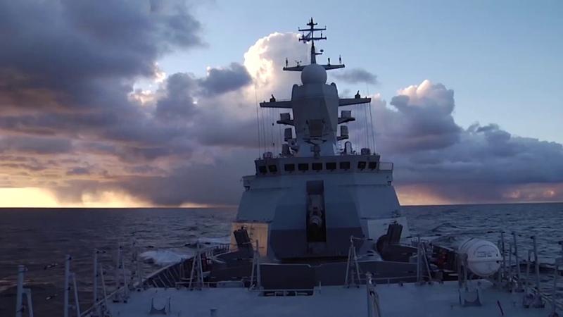 Торпедная дуэль корвета «Стойкий» и МПК «Калмыкия» в Балтийском море