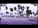 Рекордный прыжок юной скетбордистки