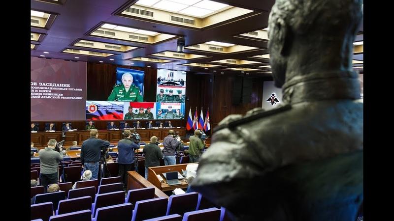 Расширенное заседание МКШ РФ и Сирии по возвращению беженцев на территорию САР (27.12.2018)