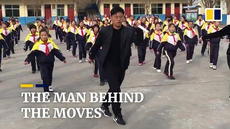 The story behind China's viral dancing school principal