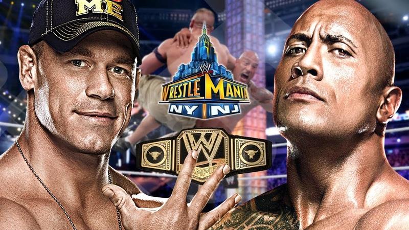 🤼존 시나 vs 더 락 레슬매니아 29 - WWE 챔피언쉽 타이틀을 걸고 1년 만에 다시 붙은 4