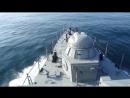 Стрельбы по береговым мишеням в рамках учений Батыс-2018 (Казахстан)