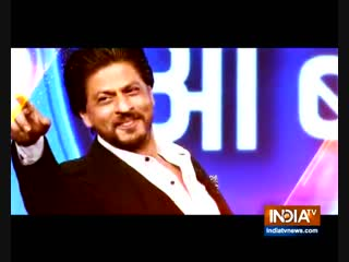 Watch Shahrukh Khan @iamsrk in India TV event #TVKaDum This Sunday Feb 10 at 5 pm @indiatvnews