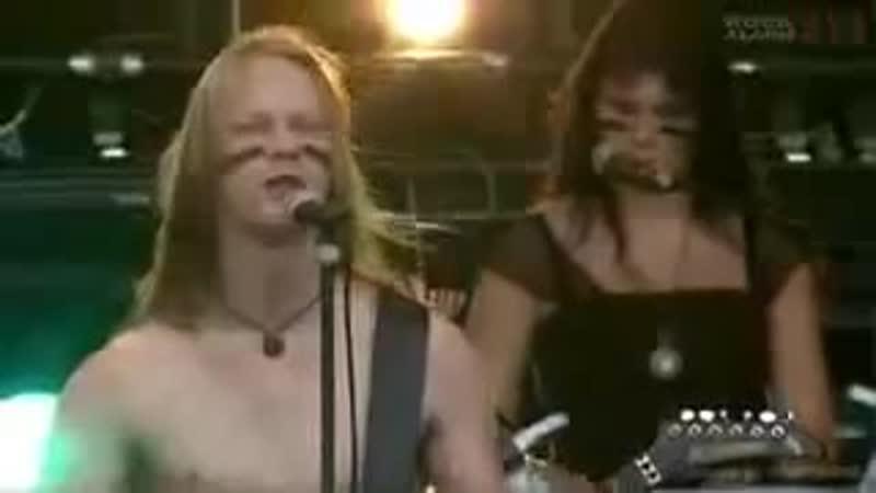 Ensiferum Into Battle live at Wacken Open Air 2008 pro shot