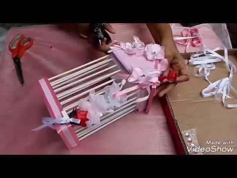 Como fazer gaiola decorativa com material reciclado