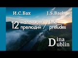 И.С. Бах - 12 маленьких прелюдий (2,1,3) Dina Dublin