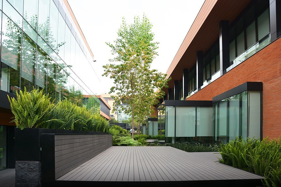 Coyoacán Corporate Campus Landscape by DLC Architects