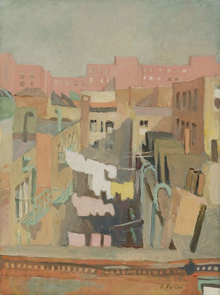 Фэрфилд Портер, Fairfield Porter (1907 - 1975) США С рождения Фэрфилд, сын архитектора и поэтессы, приобщался к миру, где красота играла не последнюю роль. Такое сочетание задало тон всей