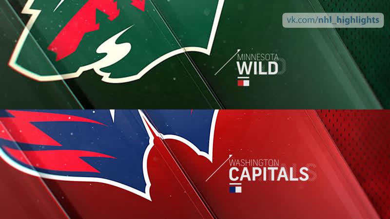 Minnesota Wild vs Washington Capitals Mar 22 2019 HIGHLIGHTS HD