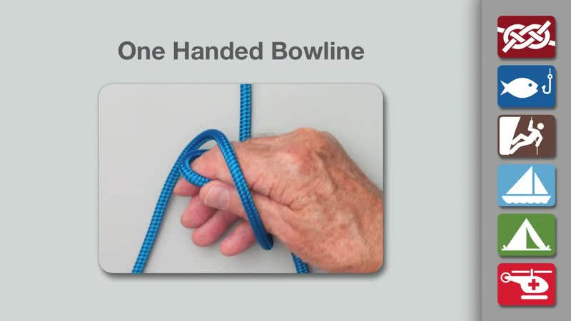 One Handed Bowline _ How to Tie a One Handed Bowline