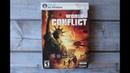 Коллекционное издание ПК Collector's Edition PC World In Conflict распаковка