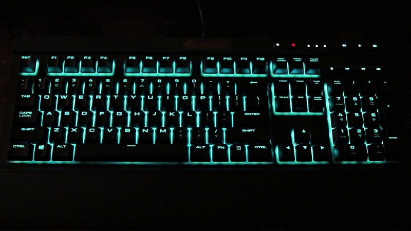 Corsair K68 RGB LED Effects by CUE