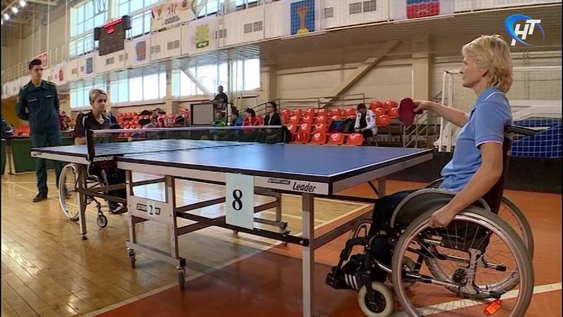 Стартовали Всероссийские соревнования по настольному теннису среди спортсменов-инвалидов