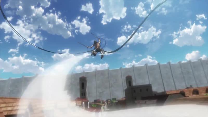 Атака Титанов Shingeki no Kyojin 1 сезон трейлер
