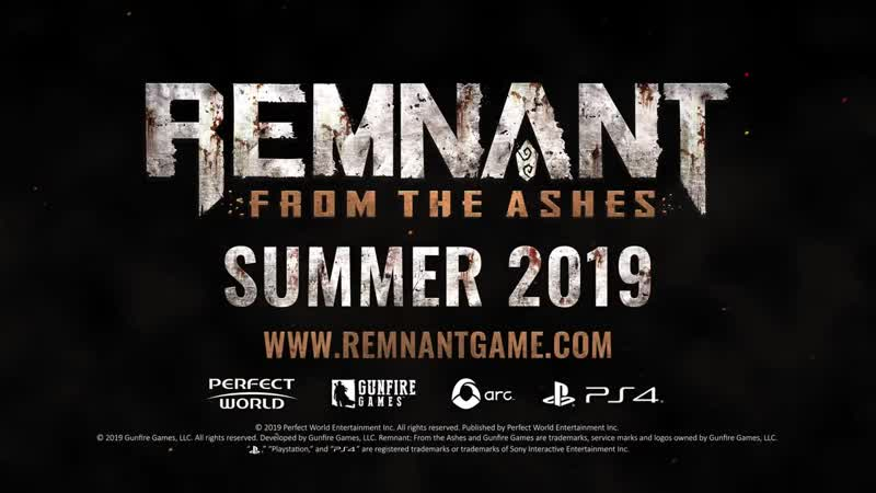 Remnant From the Ashes - Can You Survive Trailer PS4
