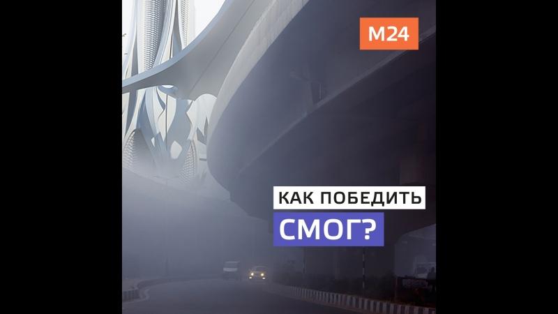 100-метровые небоскрёбы победят смог