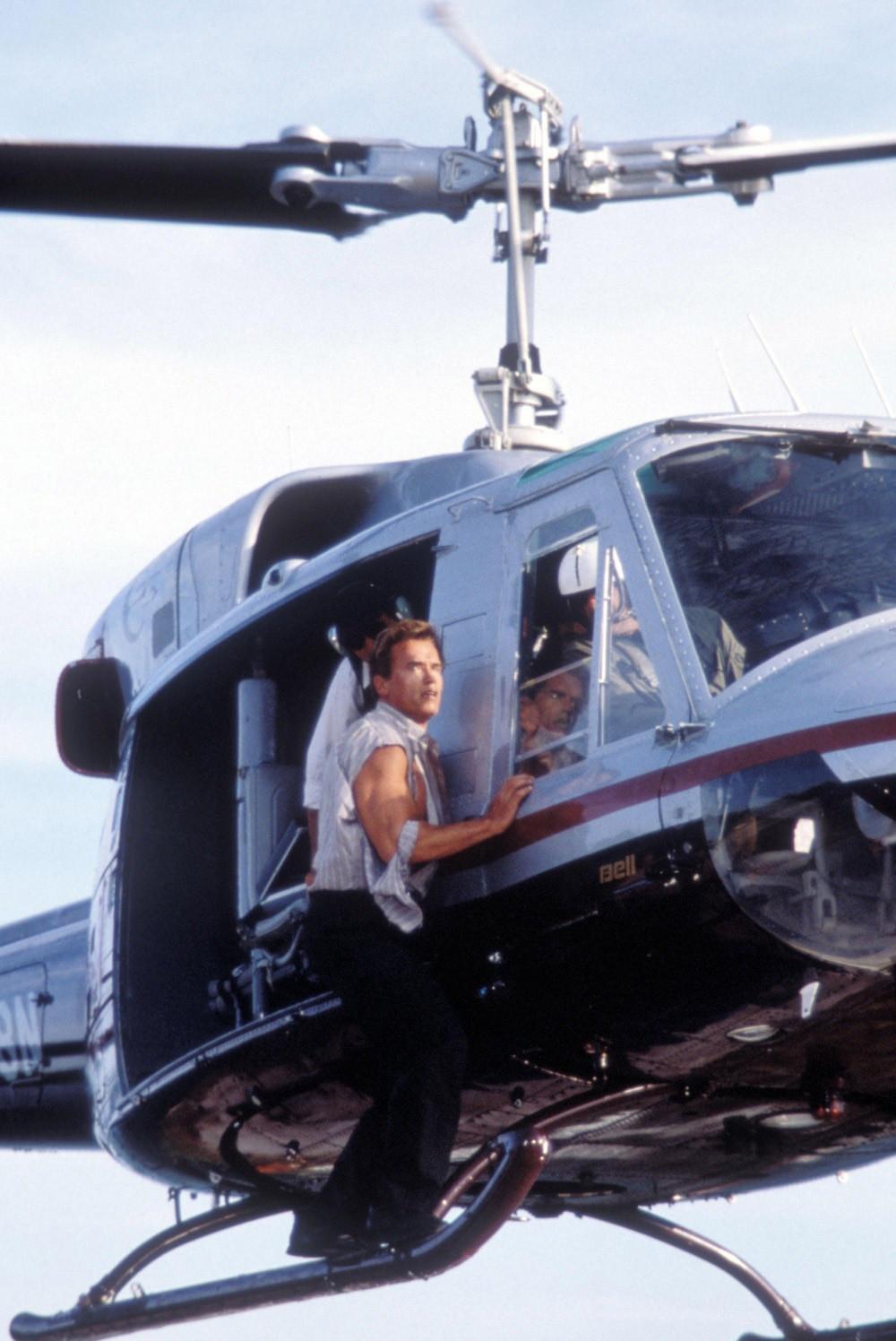 Фотографии со съемок фильмаПравдивая ложь 1994 год