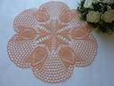 Yatak Odasına Lale Motifli Dantel Örtü YAPILIŞI -Crochet Lace Doily Tutorial