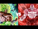 Broly vs Jiren Characteristics Powers