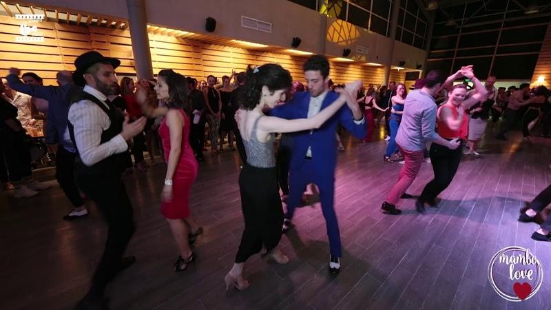 Ruzanna Djagaryan Sergey Gazaryan - social dancing @ Mambolove