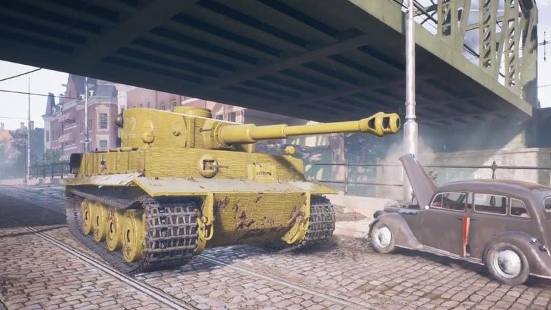 Battlefield 5 - Tiger Tank Gameplay
