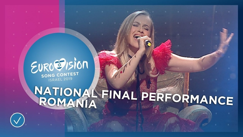Ester Peony On A Sunday Romania 🇷🇴 National Final Performance Eurovision 2019