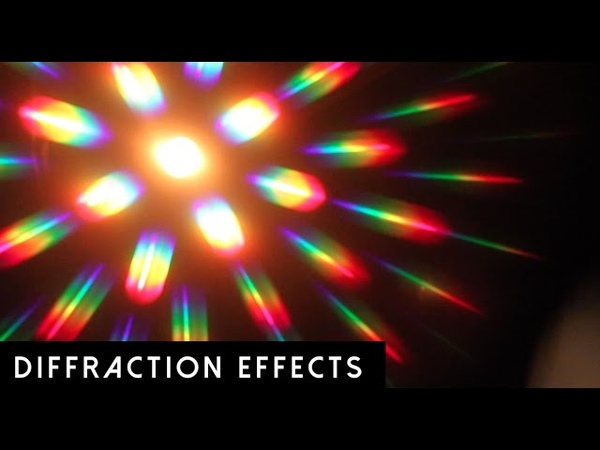 GloFX Diffraction Glasses | Lens Effects
