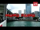 Картины на фасадах и балерины на улицах Гонконг и искусство