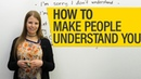 Conversation Skills: A quick easy way to make people understand you