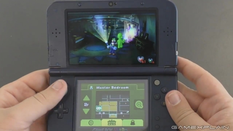 15 Minutes of Luigis Mansion 3DS - Featuring Co-Op Mode (Direct Audio)