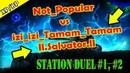 Not_Popular vs izi_izi_Tamam_Tamam, vs | Tanki Online | Station duel | 1, 2