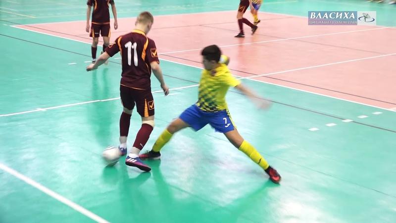 Футболисты ДЮСШ Власихи приняли участие в первенстве России по футзалу